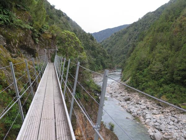 Spectacular Bridge On The Mohikinui